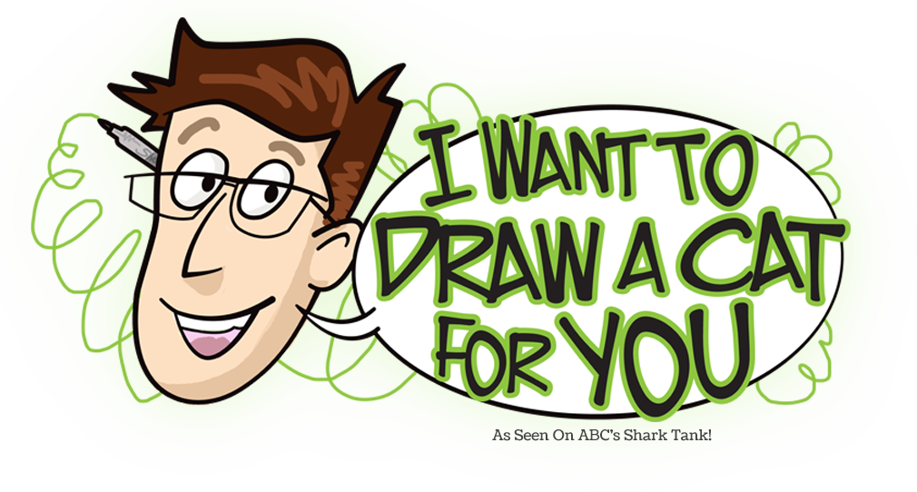 i want to draw a cat for you as seen on abcs shark tank